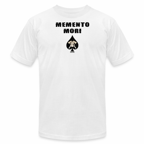 memento mori png - Unisex Jersey T-Shirt by Bella + Canvas