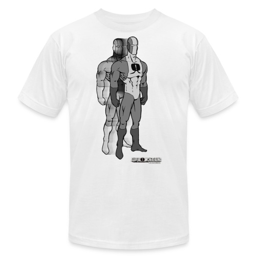Superhero 9 - Unisex Jersey T-Shirt by Bella + Canvas