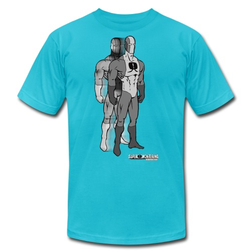 Superhero 9 - Unisex Jersey T-Shirt by Bella + Canvas