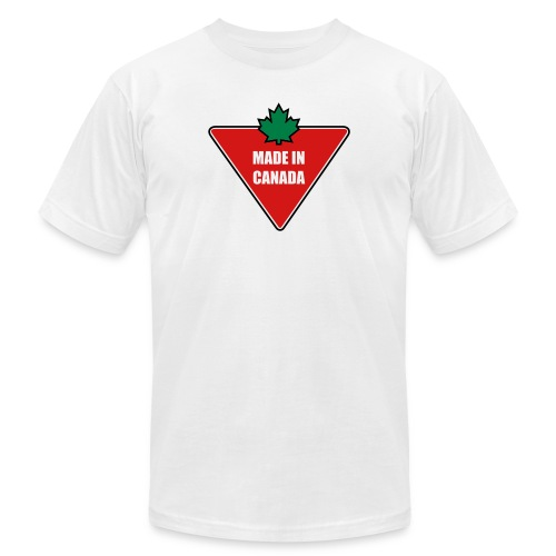 Made in Canada Tire - Unisex Jersey T-Shirt by Bella + Canvas