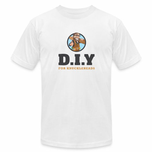 DIY For Knuckleheads Logo - Unisex Jersey T-Shirt by Bella + Canvas