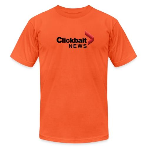 Clickbait NEWS - Unisex Jersey T-Shirt by Bella + Canvas