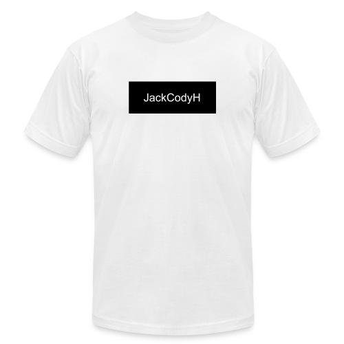 JackCodyH black design - Unisex Jersey T-Shirt by Bella + Canvas