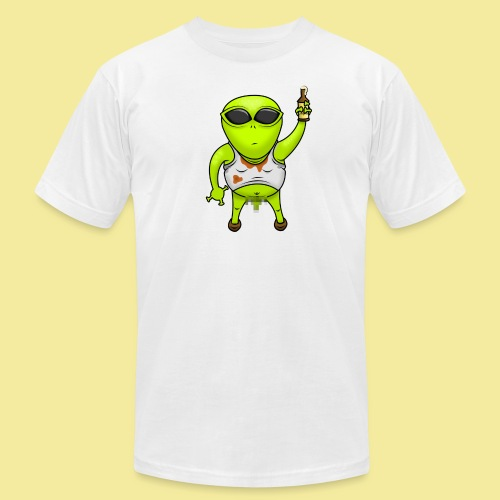 Alien png - Unisex Jersey T-Shirt by Bella + Canvas