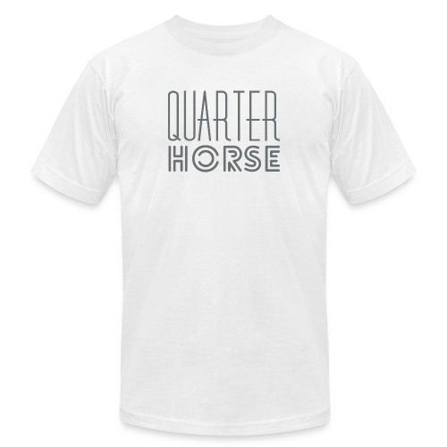 qh logo grey png - Unisex Jersey T-Shirt by Bella + Canvas