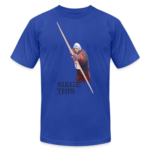 Siege This Mens standard T - Unisex Jersey T-Shirt by Bella + Canvas