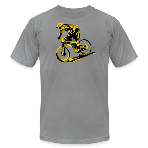 DH Freak - Mountain Bike Hoodie - Unisex Jersey T-Shirt by Bella + Canvas