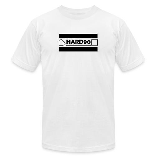 Hard 90 Logo - Unisex Jersey T-Shirt by Bella + Canvas
