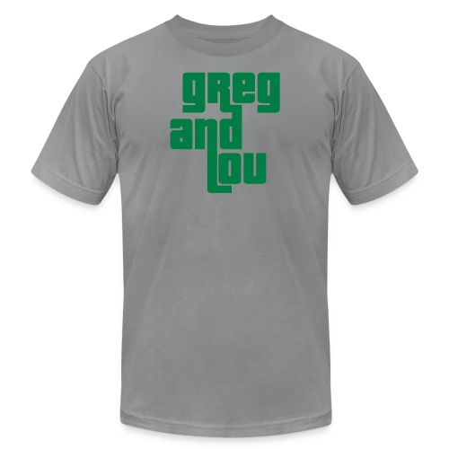greg and lou title - Unisex Jersey T-Shirt by Bella + Canvas