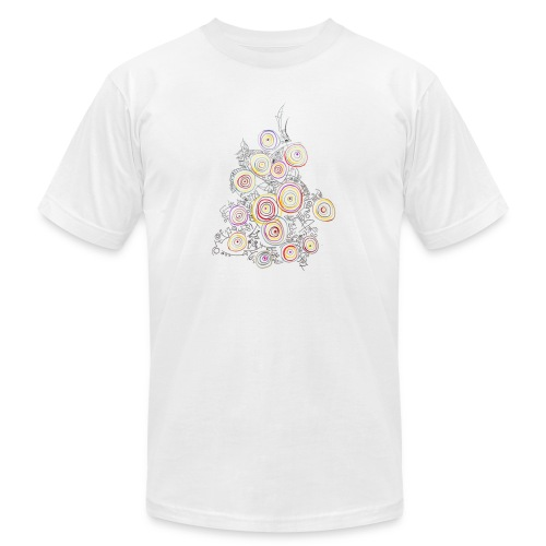 flower - Unisex Jersey T-Shirt by Bella + Canvas