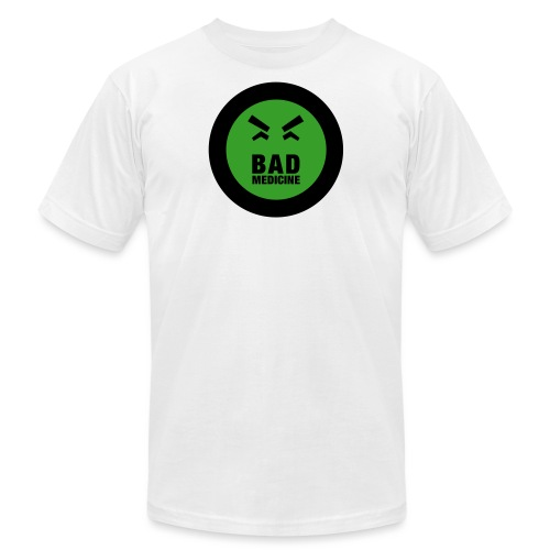 Official Bad Medicine Logo - Unisex Jersey T-Shirt by Bella + Canvas