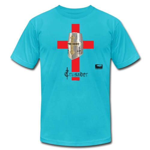 crusader_red - Unisex Jersey T-Shirt by Bella + Canvas