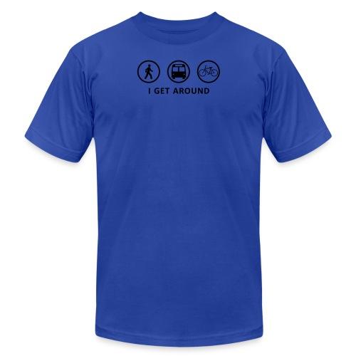 WalkBikeRide-ALT2 - Unisex Jersey T-Shirt by Bella + Canvas