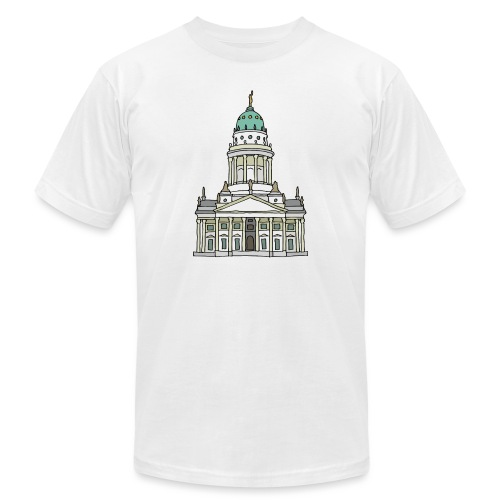 French Cathedral Berlin - Unisex Jersey T-Shirt by Bella + Canvas