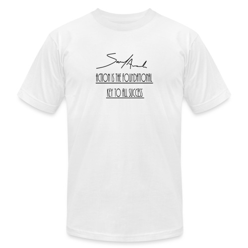 Action is the foundational key to all success - Men's Jersey T-Shirt