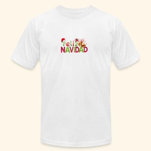 feliz navidad merch - Unisex Jersey T-Shirt by Bella + Canvas