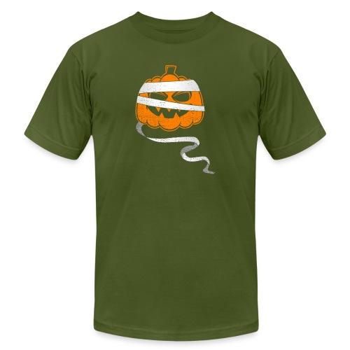 Halloween Bandaged Pumpkin - Men's Jersey T-Shirt