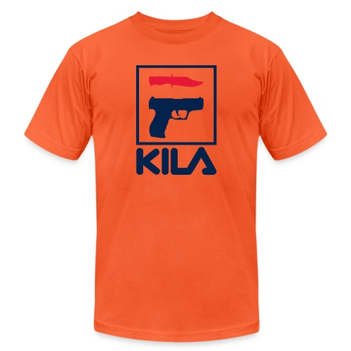 Kila - Unisex Jersey T-Shirt by Bella + Canvas
