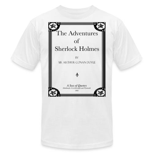 Sherlock Holmes Title Page - Men's Jersey T-Shirt
