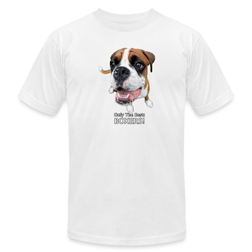 Only the best - boxers - Unisex Jersey T-Shirt by Bella + Canvas