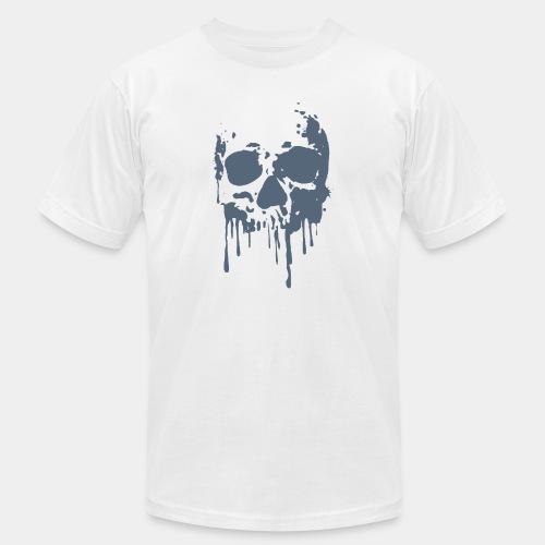 skull blood - Unisex Jersey T-Shirt by Bella + Canvas