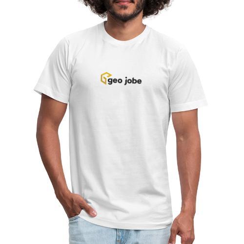 GEO Jobe Corp Logo - Black Text - Unisex Jersey T-Shirt by Bella + Canvas