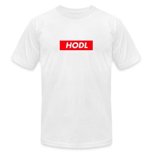 Hodl BoxLogo - Men's  Jersey T-Shirt