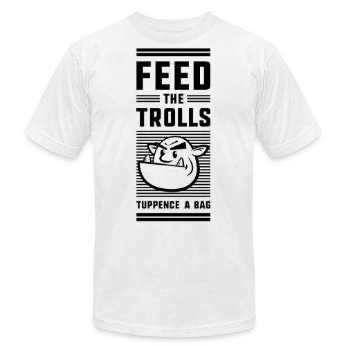 Feed the Trolls T-Shirt - Unisex Jersey T-Shirt by Bella + Canvas