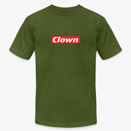 Clown box logo - Men's Jersey T-Shirt