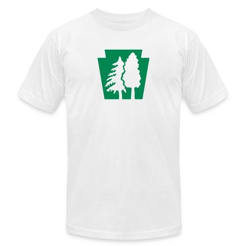 PA Keystone w/trees - Men's Jersey T-Shirt