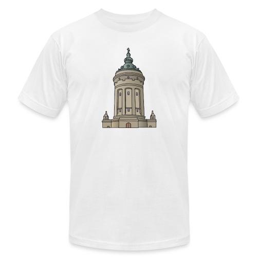 Mannheim water tower - Unisex Jersey T-Shirt by Bella + Canvas