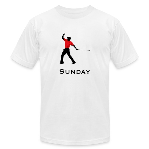 Sunday Red - Unisex Jersey T-Shirt by Bella + Canvas