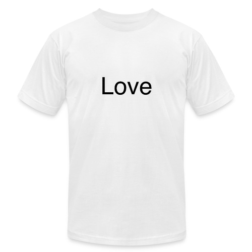 Love - Unisex Jersey T-Shirt by Bella + Canvas