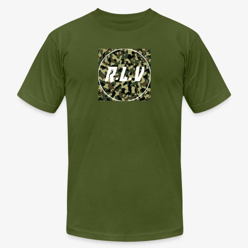 River LaCivita Camo. - Men's  Jersey T-Shirt