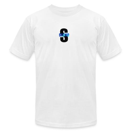 CAMO STROMEDY SQUAD LOGO - Unisex Jersey T-Shirt by Bella + Canvas