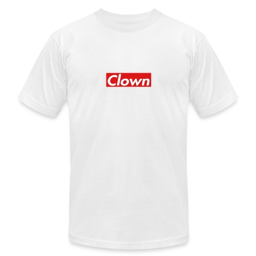 halifax clown sup - Unisex Jersey T-Shirt by Bella + Canvas