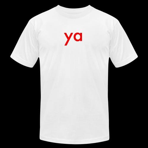 ya - Men's  Jersey T-Shirt
