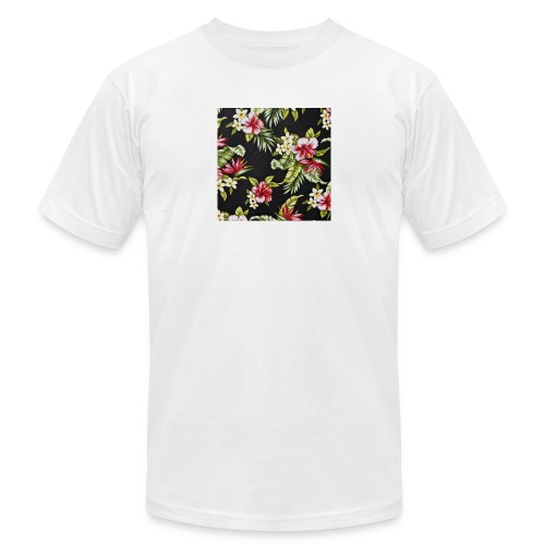 Floral T shirt - Unisex Jersey T-Shirt by Bella + Canvas