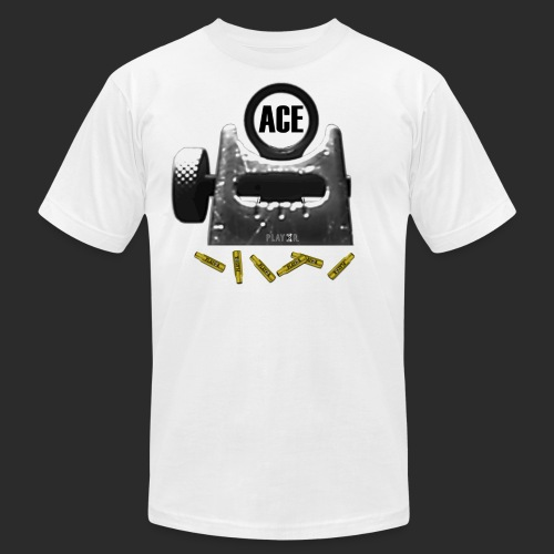 ACE Logo Bullets png - Unisex Jersey T-Shirt by Bella + Canvas
