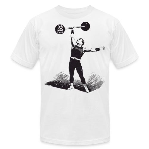 Women's 2Ton Sideshow Strongman Shirt - Unisex Jersey T-Shirt by Bella + Canvas