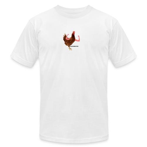 ChickenLover Box Logo T-shirt - Men's  Jersey T-Shirt