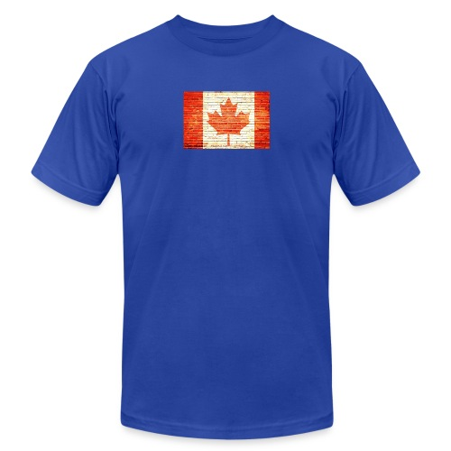 Canada flag - Unisex Jersey T-Shirt by Bella + Canvas