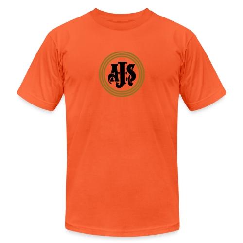 AJS emblem - AUTONAUT.com - Unisex Jersey T-Shirt by Bella + Canvas