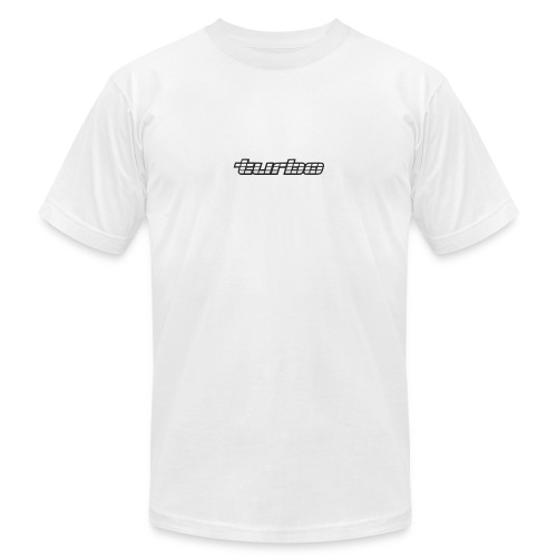 VL Turbo White - Unisex Jersey T-Shirt by Bella + Canvas