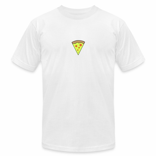 Pizza icon - Unisex Jersey T-Shirt by Bella + Canvas