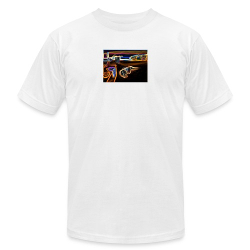 Melted Neon Dali - Unisex Jersey T-Shirt by Bella + Canvas