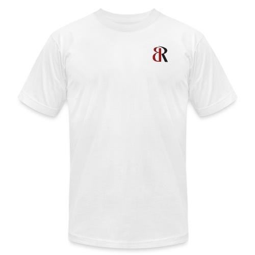 BRLogoRedBlack - Unisex Jersey T-Shirt by Bella + Canvas