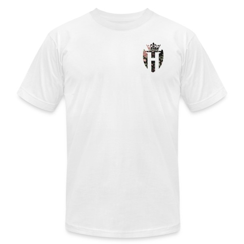 Horizon White H Shield Shirt AA - Unisex Jersey T-Shirt by Bella + Canvas