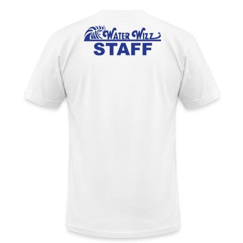 Water Wizz - STAFF - Unisex Jersey T-Shirt by Bella + Canvas