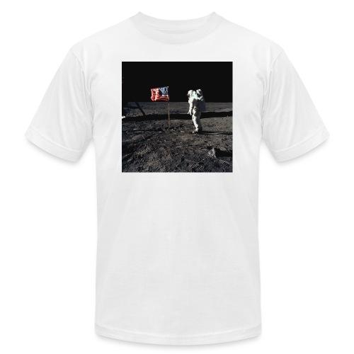 buzzAldrin jpg - Unisex Jersey T-Shirt by Bella + Canvas